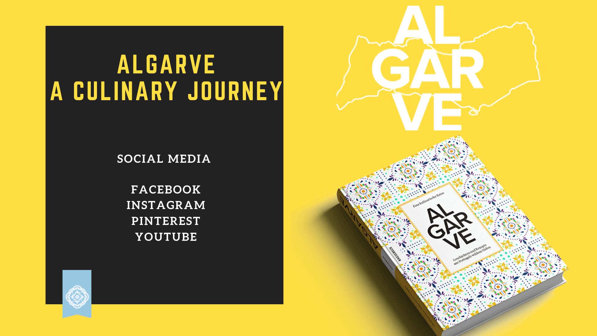 """Coverbild: Social Media für das Buch """"Algarve - eine kulinarische Reise"""""""