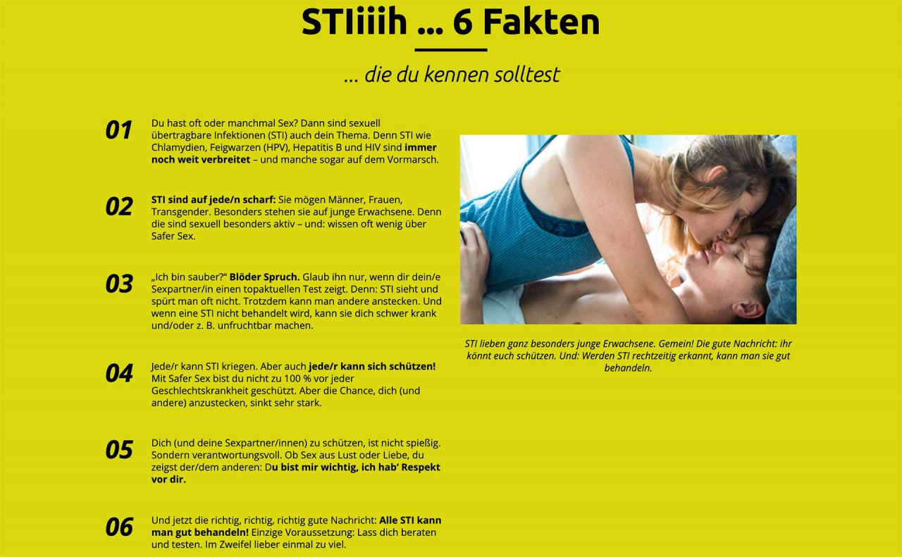 STI - 6 Fakten zu sexuell übertragbarer Krankheiten.